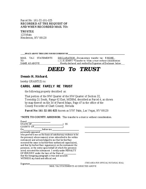 Palm County Property Records Deeds Deed To Trust Hashdoc