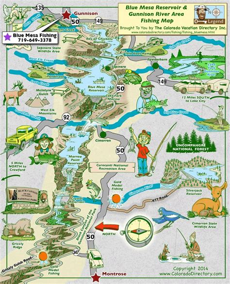 maps colorado river fishing map 22 best images about co fishing maps on mesas