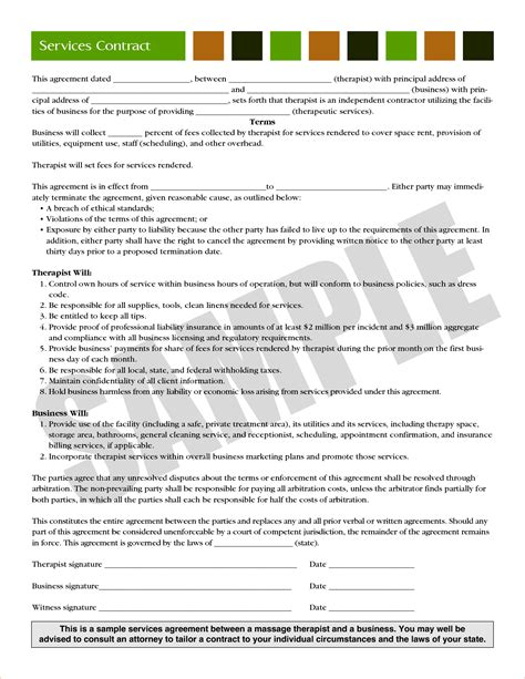 business contract agreement 3 business contract agreementreport template document