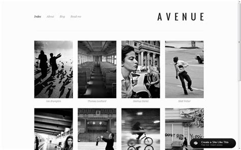 Best Folio Sites For Photographers Notes On Design Best Squarespace Template For Photographers