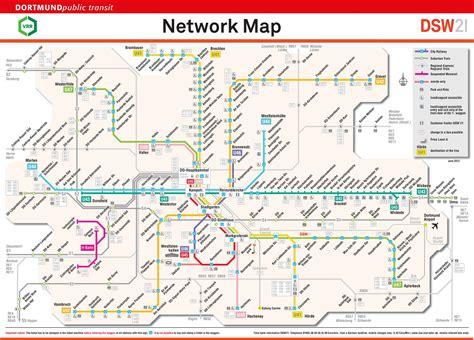 rail map germany dortmund rail map