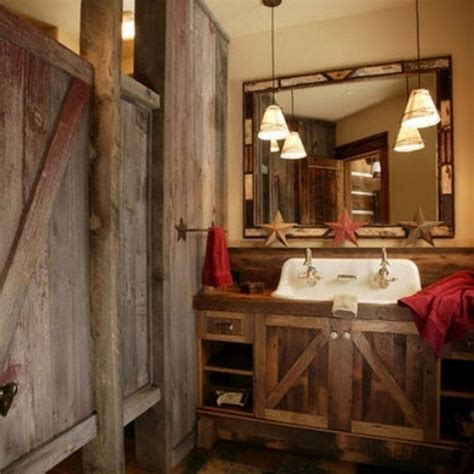 rustic bathrooms ideas awesome pendant bathroom lightings ideas with reclaimed