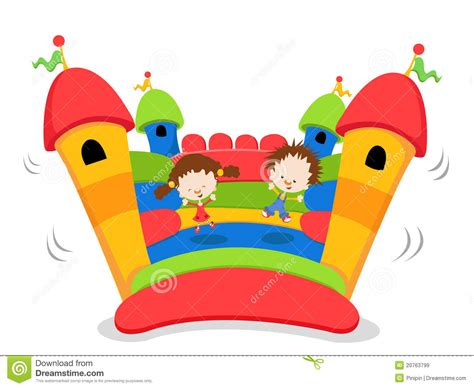 Simple A Frame House Plans by Bouncy Castle Royalty Free Stock Images Image 20763799