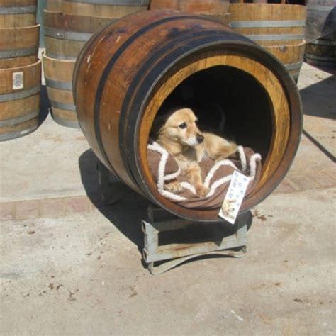 whiskey barrel dog house dog house idea inthedoghouse pinterest dog houses whiskey barrels and the o jays