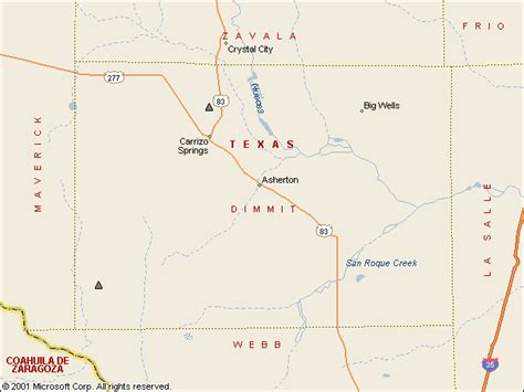 dimmit county texas map usgs water resources of the united states