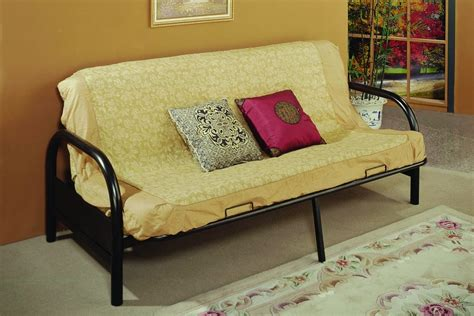bi fold metal futon sofa bed frame thesofa