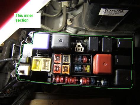 5209 Fuse Box Skring Toyota Yaris fuse panel the yotatech forums