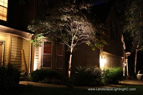 landscape lighting photos gallery landscape lighting kc
