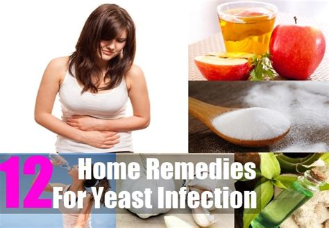 12 home remedies for yeast infection treatments