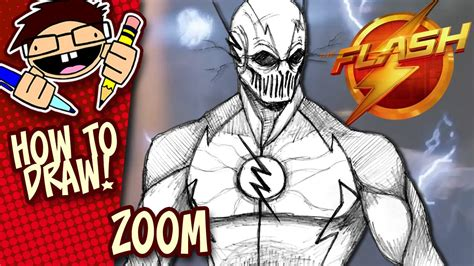 How To Draw Zoom Step By Step how to draw zoom the flash tv series easy step by step