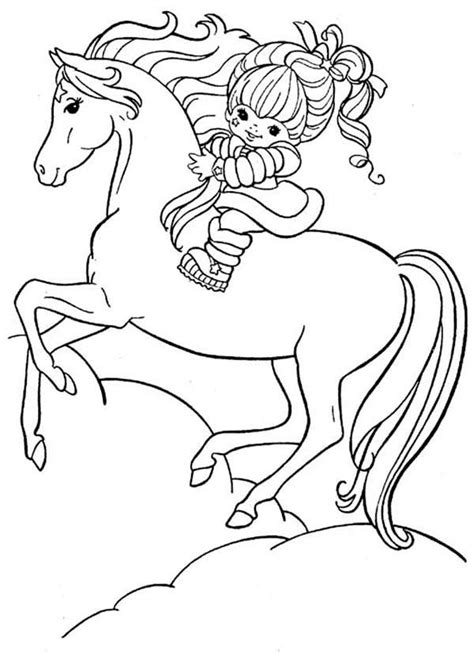 Rainbow Bright Coloring Pages Rainbow Brite Coloring Pages To Download And Print For Free by Rainbow Bright Coloring Pages