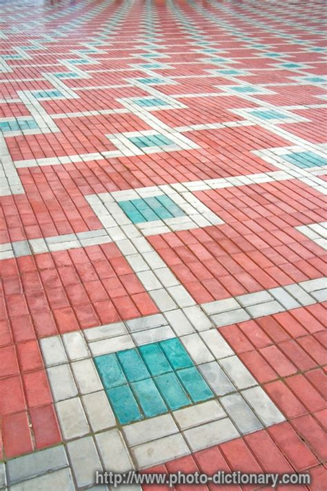 pattern dictionary meaning pavement pattern photo picture definition at photo