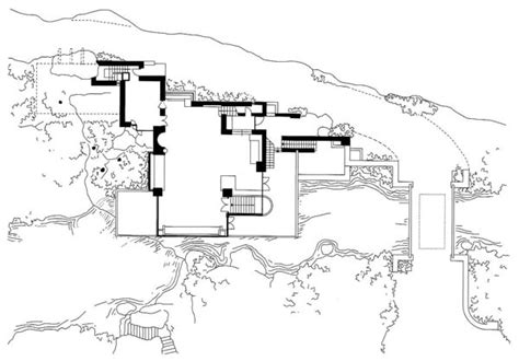 falling water house plan history of art architecture and sculpture