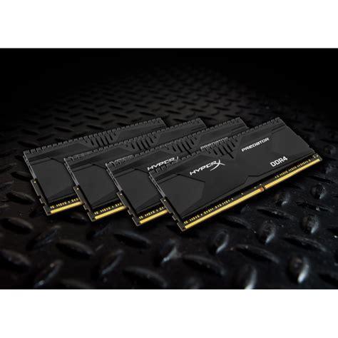 Gskill F4 3200c14d 16gtzsw hyperx predator noir 32 go 4x 8 go ddr4 2400 mhz cl12 m 233 moire pc hyperx sur ldlc
