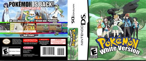 The Version by White Version Nintendo Ds Box Cover By Jankip