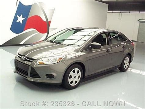 automotive air conditioning repair 2012 ford focus user handbook find used 2012 ford focus s sedan 5 speed air conditioning 51k mi texas direct auto in stafford