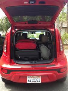 Kia Soul Trunk Space I Brought Two And A Soul To Florida