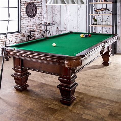 wood pool table montemor cherry finish wood pool table balls brush