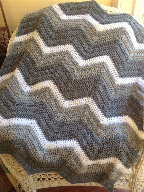 zig zag crochet pattern for beginners new chevron zig zag ripple baby blanket afghan wrap crochet