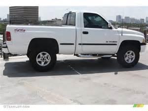 bright white 1997 dodge ram 1500 lt regular cab 4x4