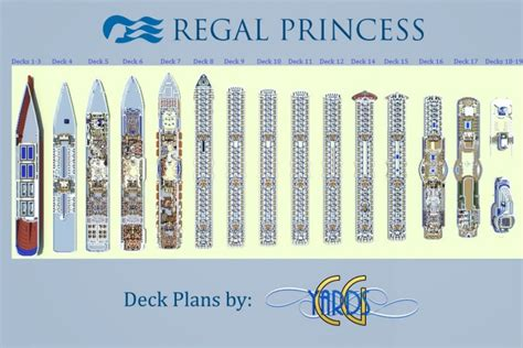 Atrium Floor Plans by Regal Princess 1 1 Scale Cruise Ship Download Full