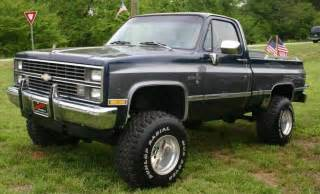 lifted chevy silverado k10 4x4 truck