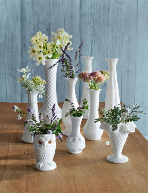 Tiny Vases by Facts About Milk Glass Milk Glass Collectibles