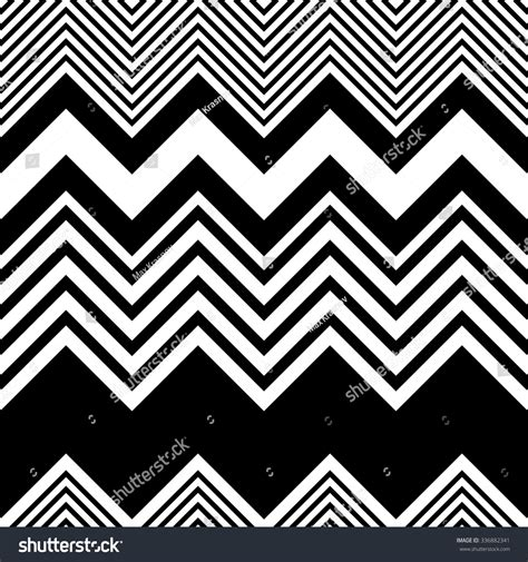 zigzag pattern generator seamless zigzag pattern abstract black white stock vector