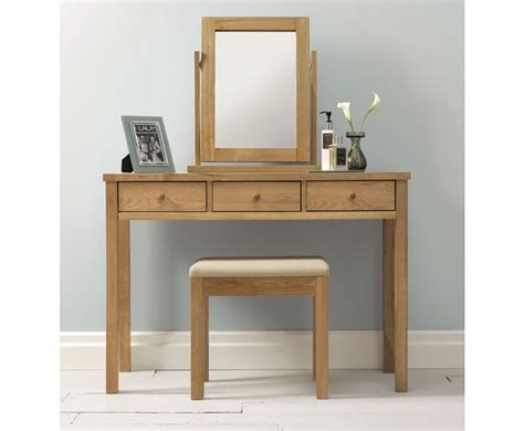 Oak Vanity Table Atlanta Oak Dressing Table