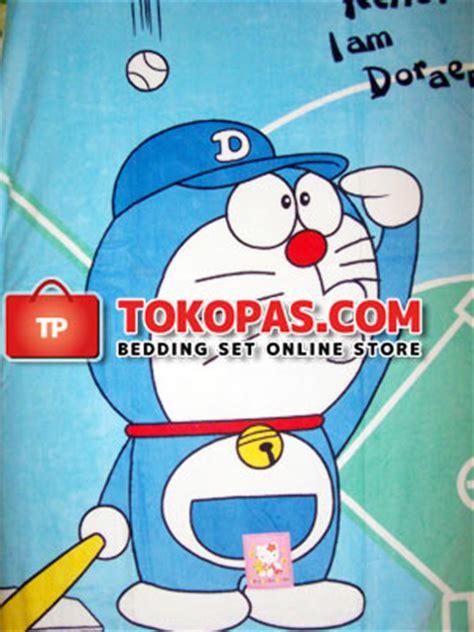 Selimut Bulu Lembut Doraemon selimut penthouse baby selimuthanduk