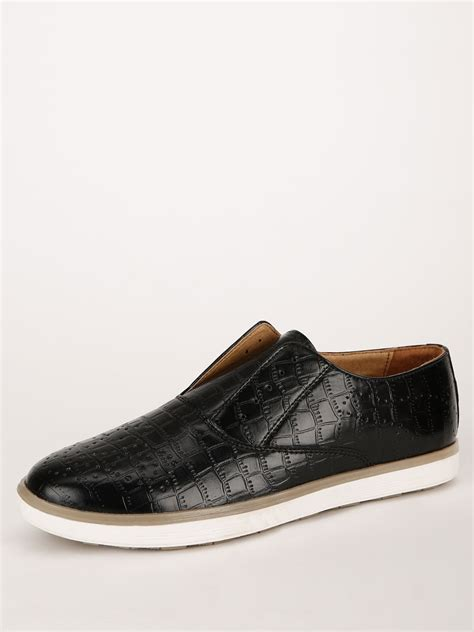 buy famozi laceless sneakers for s black casual shoes in india