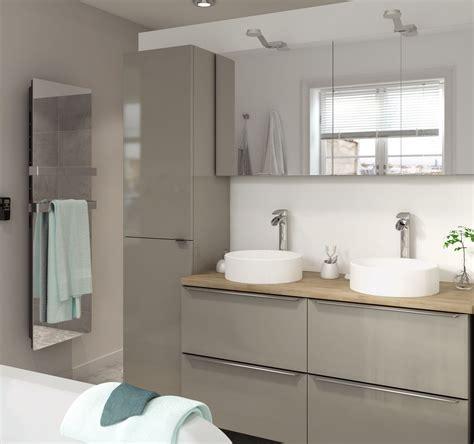cooke lewis imandra gloss taupe vanity basin unit wmm declutter  home bathroom bathroom sink units bathroom vanity units