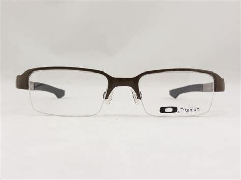 oakley titanium frames for eyeglasses
