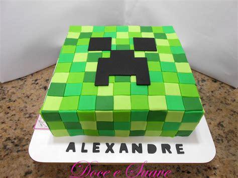 pastel decorado minecraft blog da mam 227 lu festa de anivers 225 rio minecraft bolo de