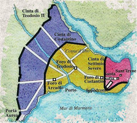 perchè si chiama impero ottomano costantinopoli la nuova capitale di costantino le