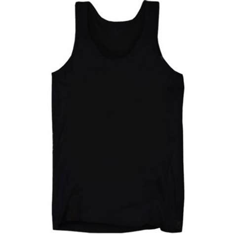 Nakedlily Vest Tank Top Black mens plain regular vest tank top