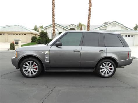 range rover nevada buy used 2009 range rover supercharged strut edition in