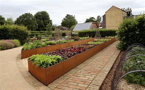 steel garden steel for gardens gallery of cor ten garden design