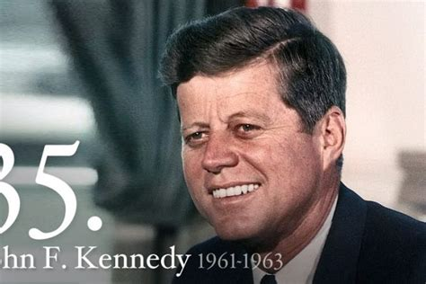 f kennedy 1961 1963 our 35th president of the