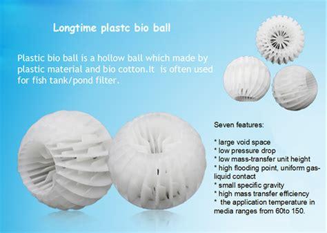 Bioball 16mm pp filter balls water filter valve aquarium bio