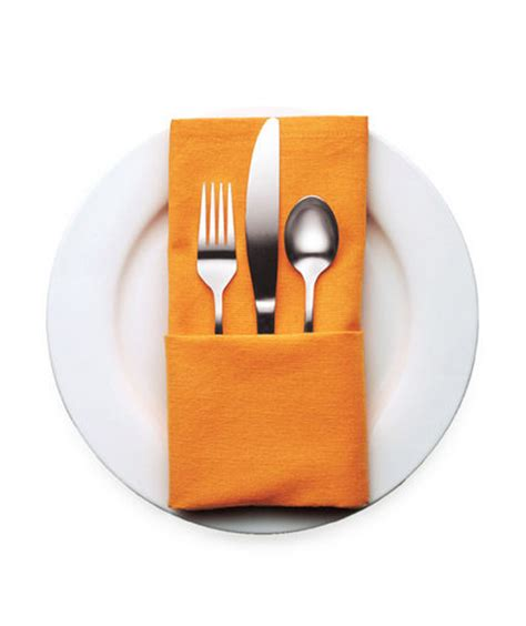 Fold Paper Napkins To Hold Silverware - 4 classic server 4 decorative napkin folding ideas