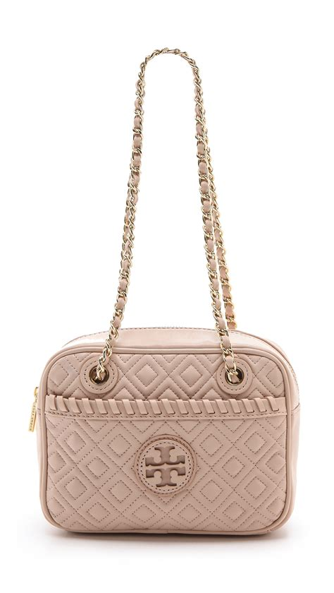 Burch Quilted Bag by Burch Marion Quilted Cross Bag In Beige Light