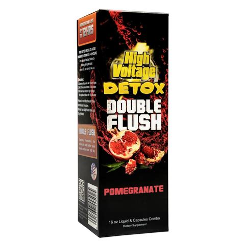 High Voltage Detox 16 Oz Reviews by High Voltage Flush Detox 16oz Liquid Capsules