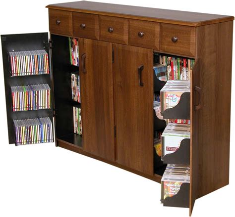 tv stand cabinet with drawers cd dvd storage cabinet rack tv stand w drawers new ebay