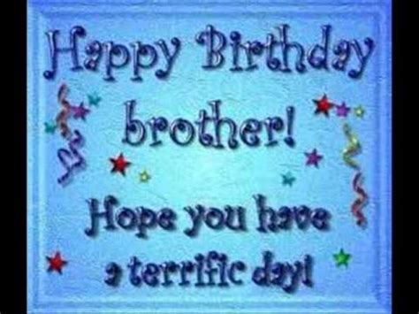 imagenes de happy birthday little brother feliz cumplea 241 os hermano atraves de la distancia youtube