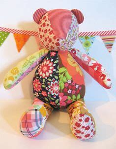 Free Patchwork Teddy Pattern - 1000 images about teddy patterns on