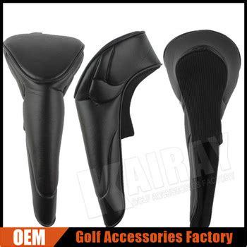 Gc Black Cover blank golf driver covers black leather buy driver