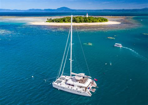 catamaran cruise great barrier reef port douglas sunset sailing cruise adults only great