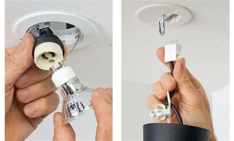 Boitier Luminaire Plafond comment poser un spot ou une suspension au plafond