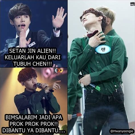Meme Komik Kpop - meme exo indonesia comic meme lucu